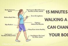 ისეირნეთ თხუთმეტი წუთი დღეში - გაიხანგრძლივეთ სიცოცხლე